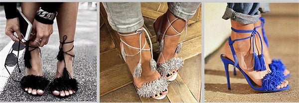 Tassel Heels - Beach'n Designs - 5