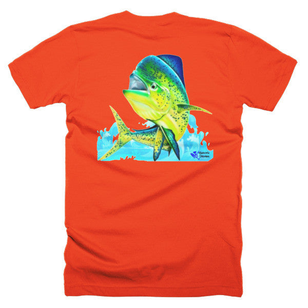 Mahi Splash Short sleeve men's t-shirt - Beach'n Designs