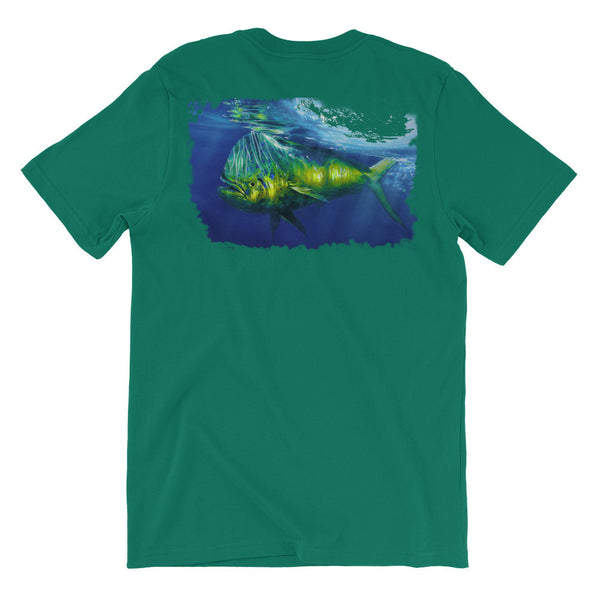 Blue Crush Unisex short sleeve t-shirt - Beach'n Designs