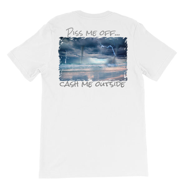 Piss Me Off Unisex short sleeve t-shirt - Beach'n Designs