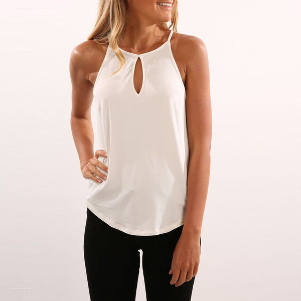 Key Hole Tank Top