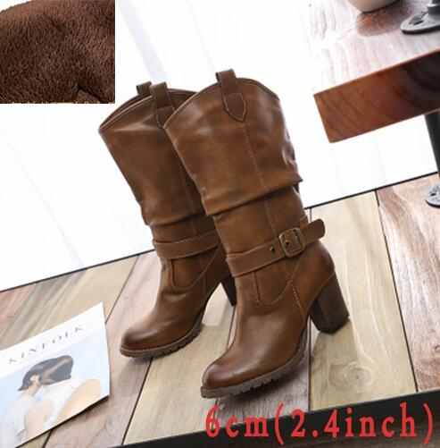 High Heel Belted boot - Beach'n Designs