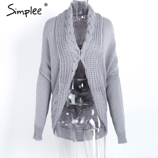 Simplee Winter knitted sweater cardigan - Beach'n Designs
