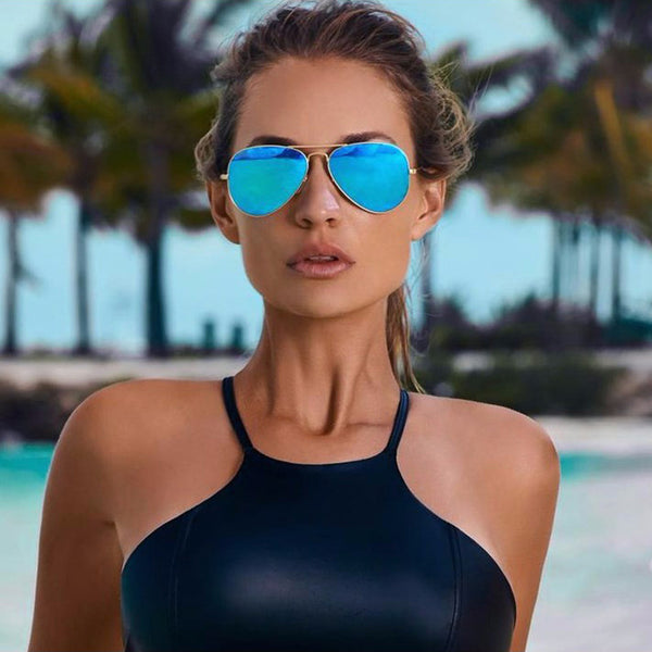 Brand Designer Luxury Aviator Sunglasses - Beach'n Designs