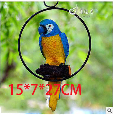 3D Parrot Wall Decorations - Beach'n Designs