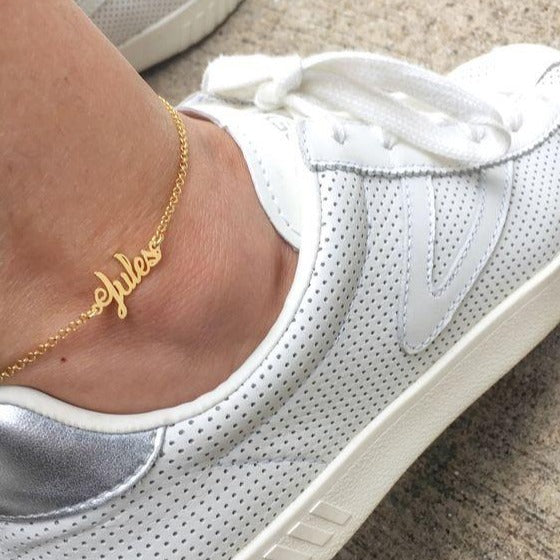 CUSTOM NAME ANKLET