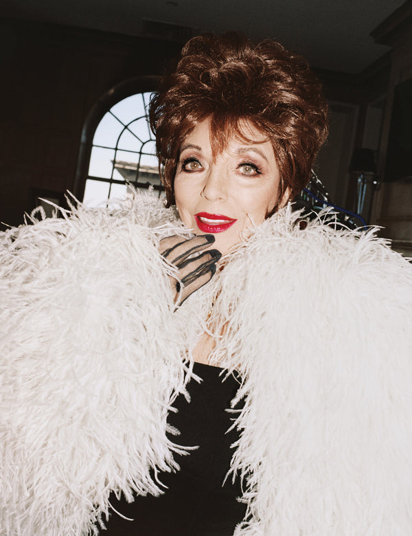 Joan Collins | W Magazine