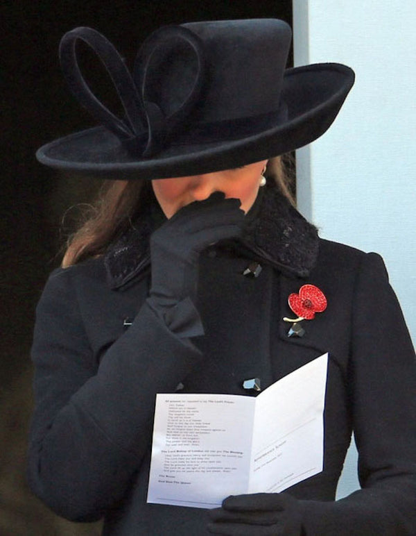 The Duchess of Cambridge | Rememberance Day, November 2012