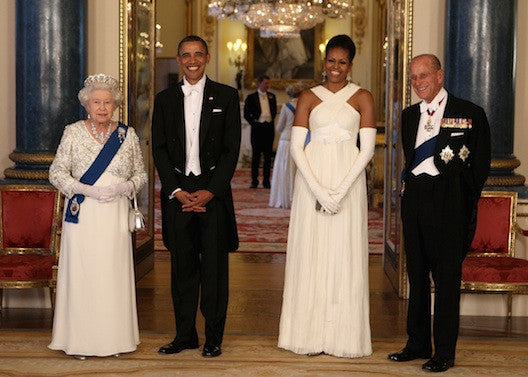 The Obamas' Royal Visit