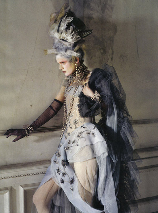 Lady Grey | Vogue Italy, March 2010