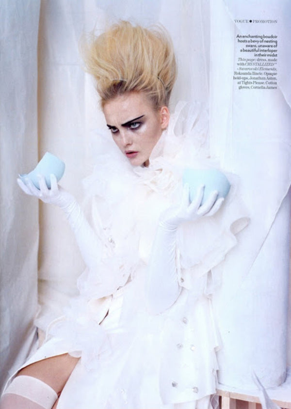 The Snow Queen | British Vogue, March 2009