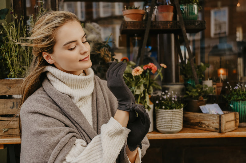Merino Wool Gloves-Cornelia James