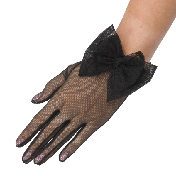 Angélique - Net Glove with Bow