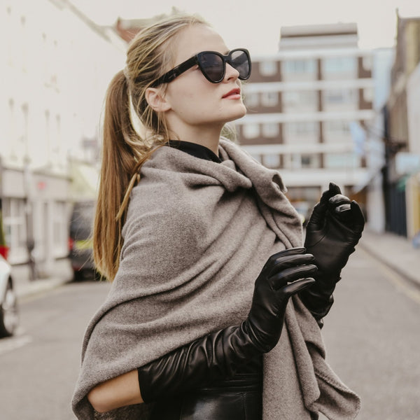 Elodie | Long Leather Glove