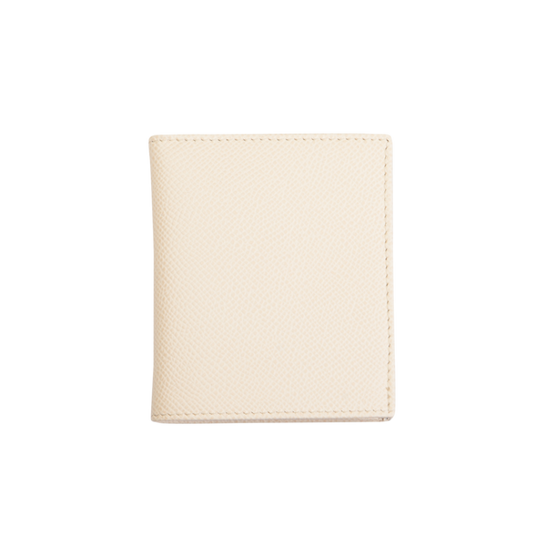 Eva - Leather Card Holder - Ivory - Cornelia James - 4