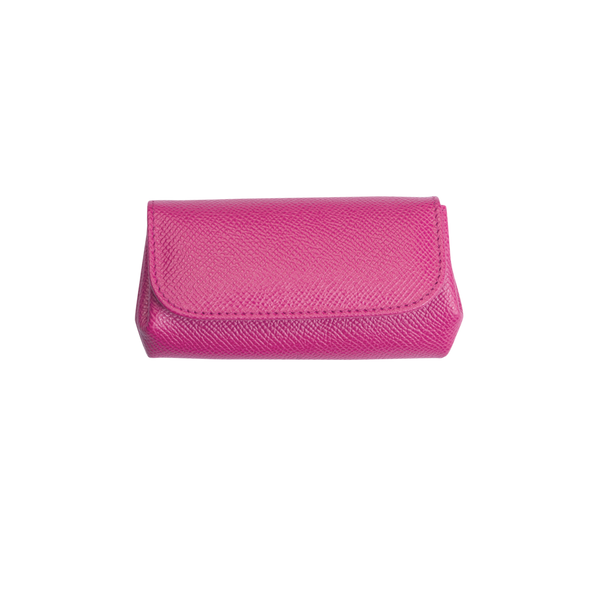 Olga - Leather Coin Purse - Pink - Cornelia James - 2