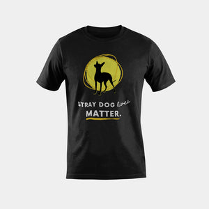 Men's T-Shirt - Stray Dog Lives Matter