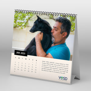 2021 Calendar - Rescued Dogs of VOSD