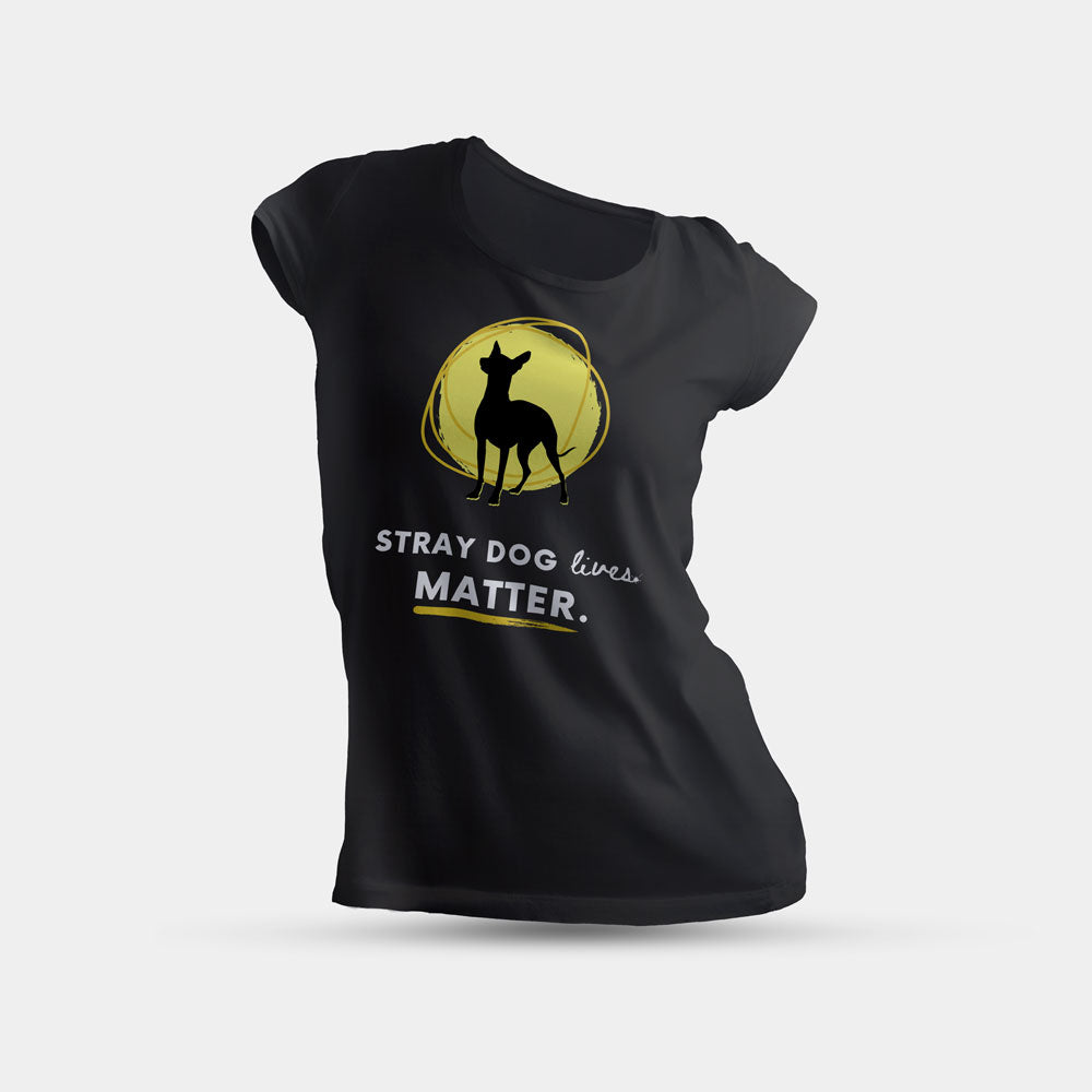 Women's T-Shirt - Stray Dog Lives Matter