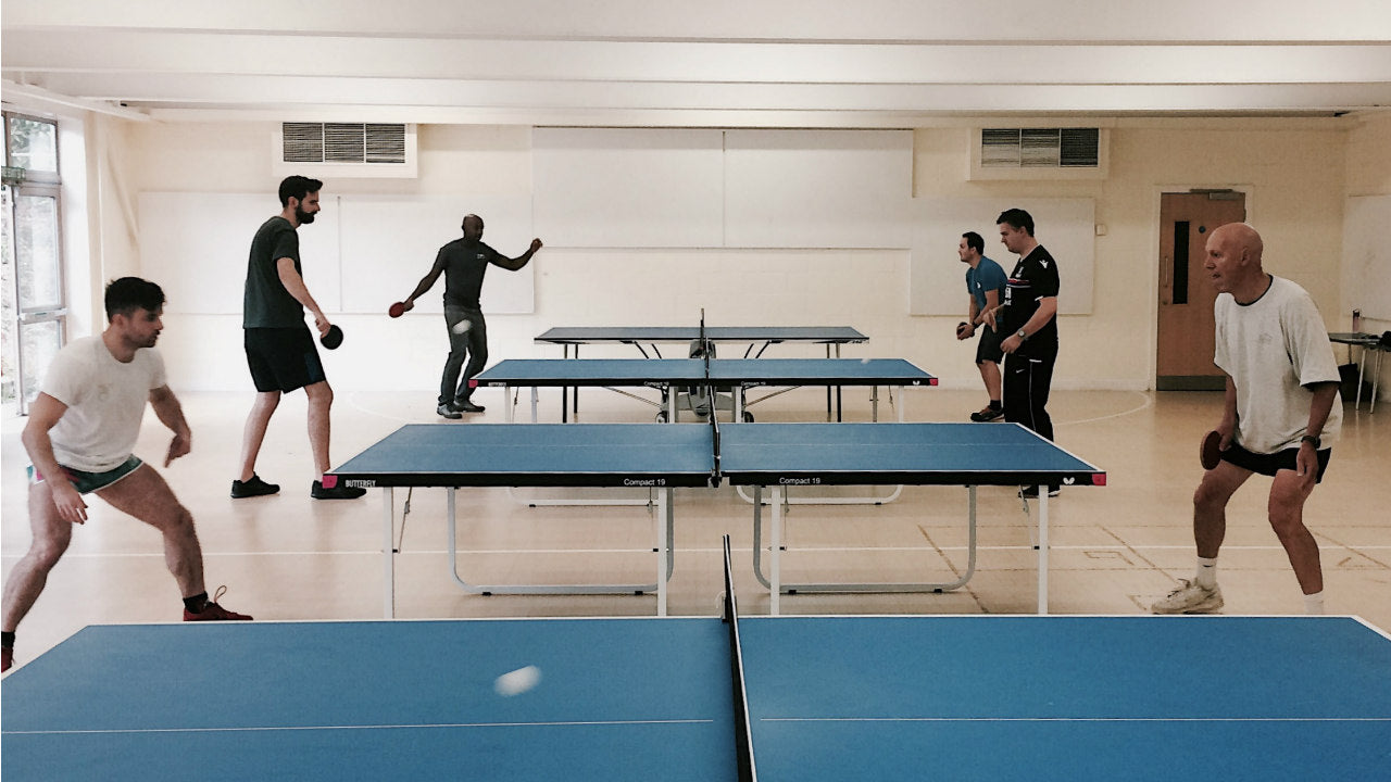 The Beauty of Local League Table Tennis