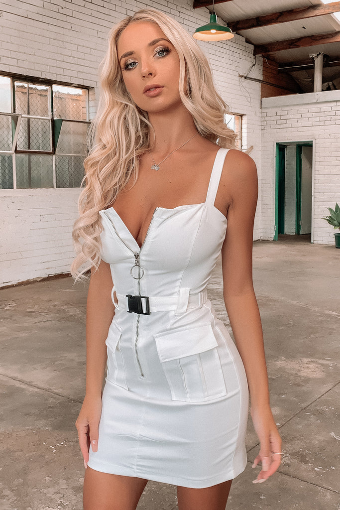 Virtue Dress - White