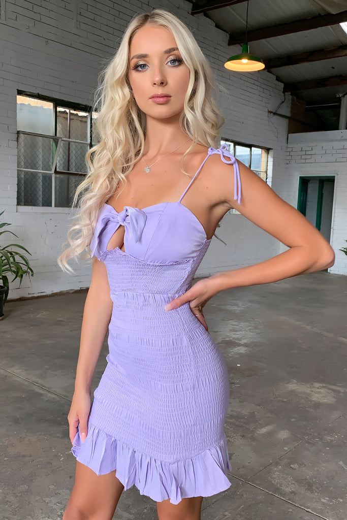 Thorin Dress - Lilac