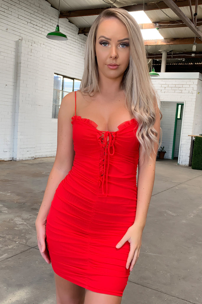 Mente Dress - Red