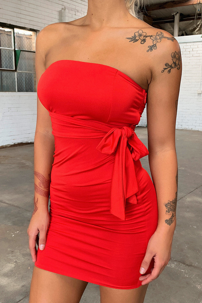 Holiday Dress - Red