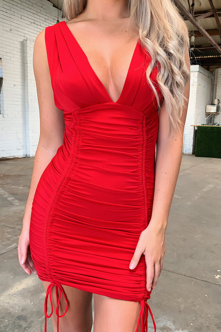 Jude Dress - Red