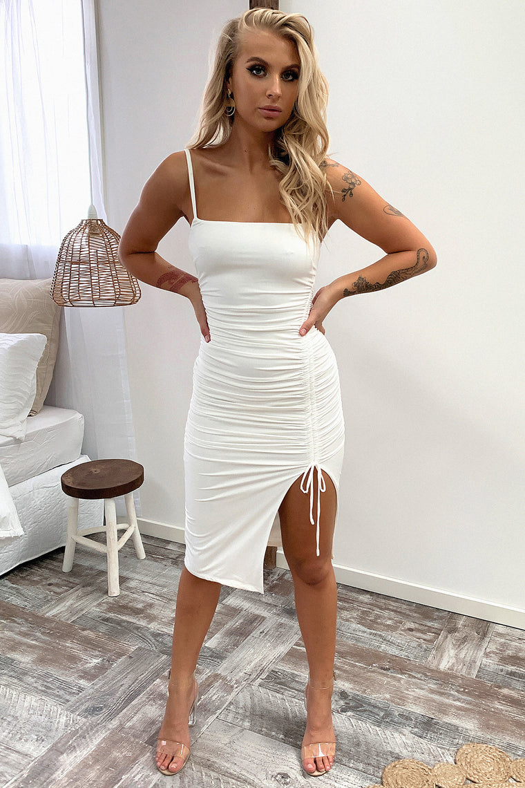 Camilla Dress - White