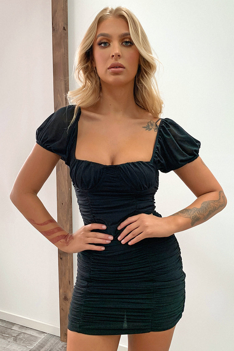 Birdie Dress - Black