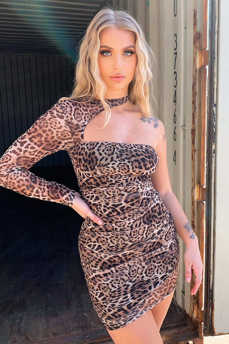 Mehr Dress - Leopard