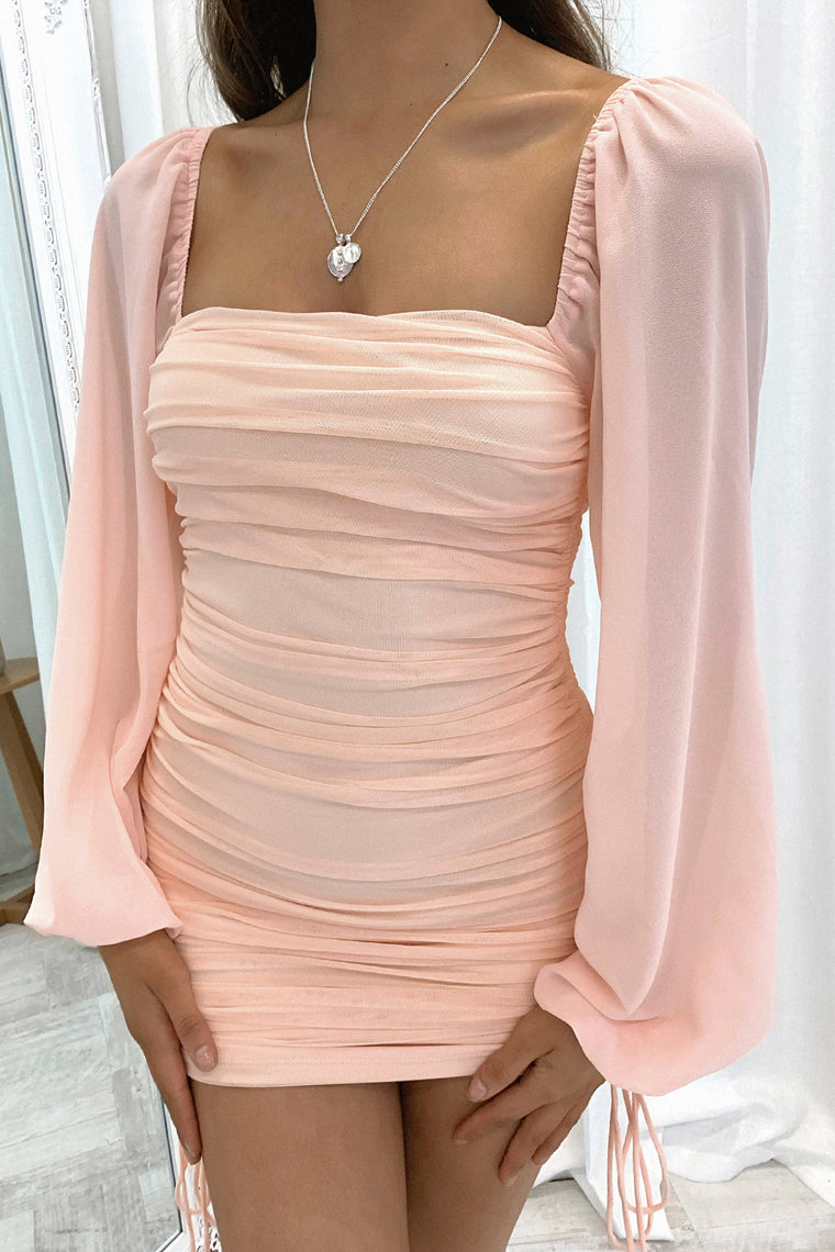 Lorde Dress - Peach