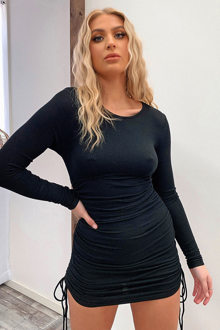 Skylah Dress - Black