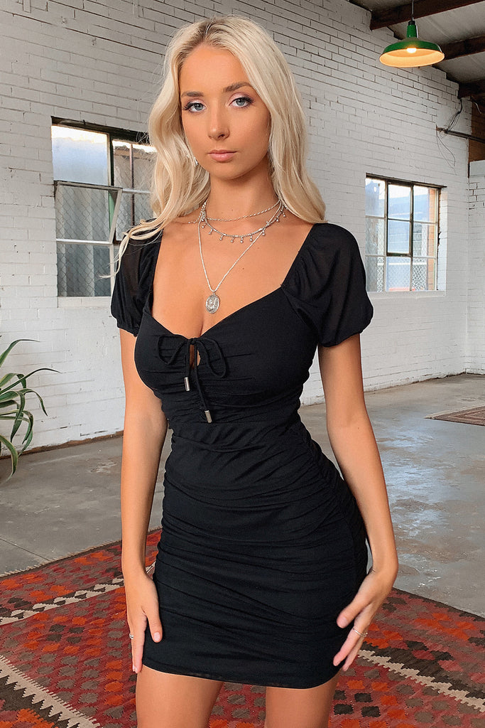 Adelaide Dress - Black