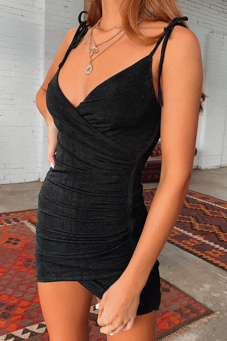 Somalia Dress - Black