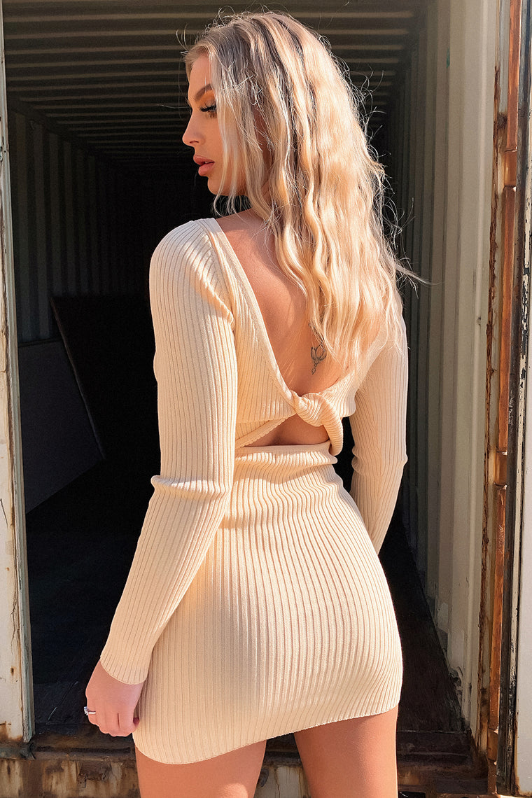 Sidoney Long Sleeve Knit - Tan