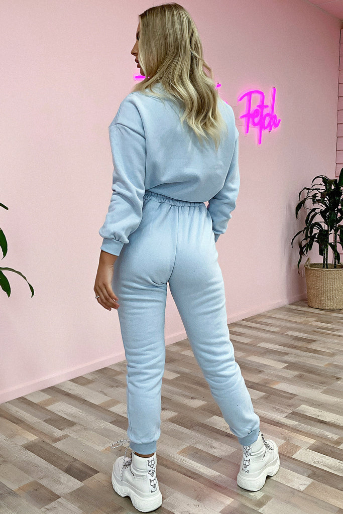 Emersyn Sweater - Baby Blue
