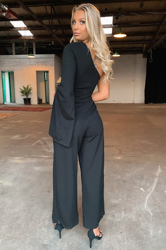 Cologne Jumpsuit - Black