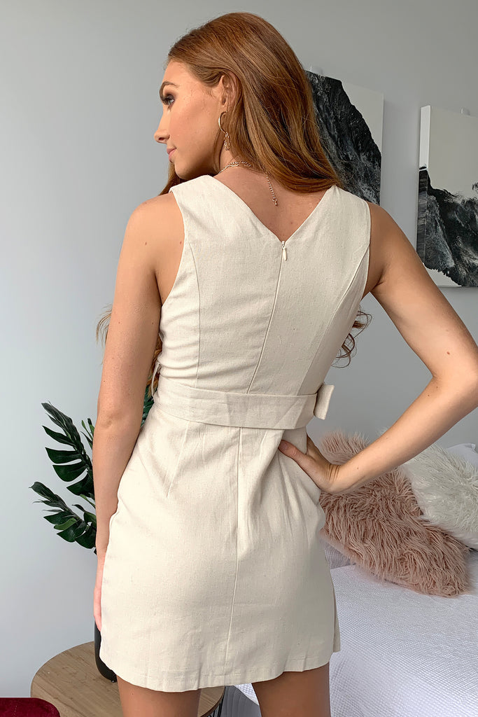Farren Dress - Beige