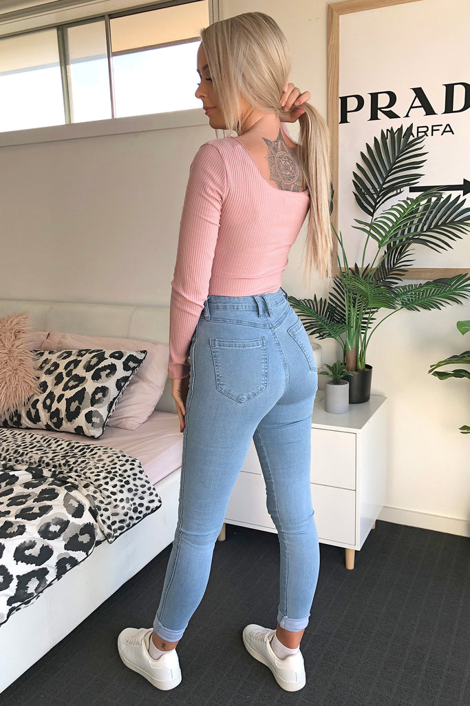 Nina Bodysuit - Blush