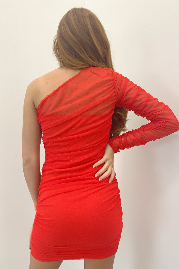 Mabel Dress - Red