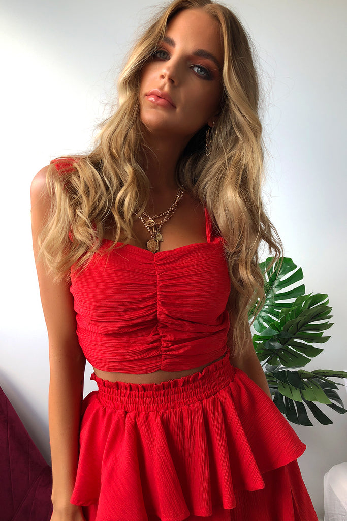HARTLEY CROP - RED