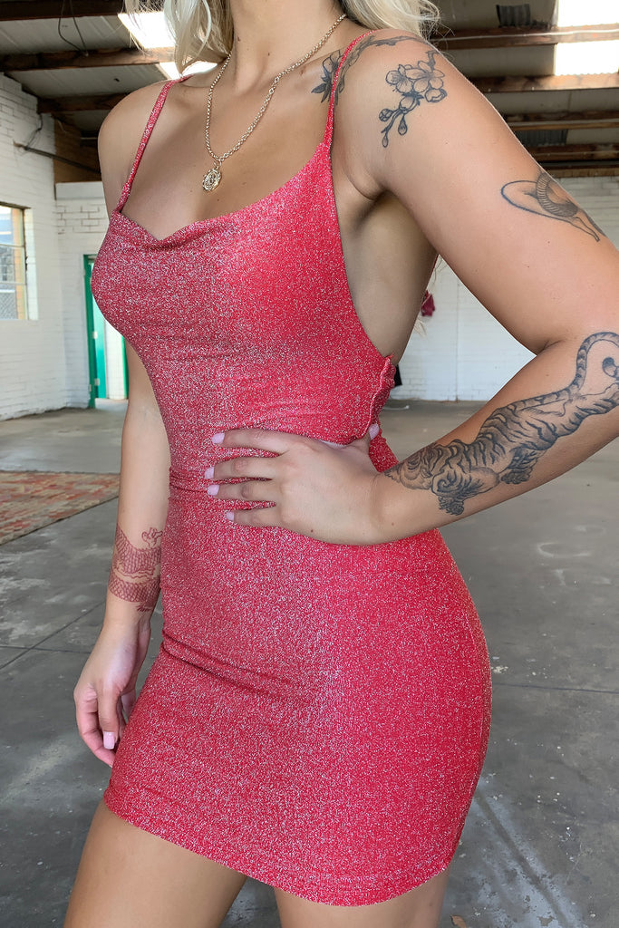 Ashanti Dress - Red