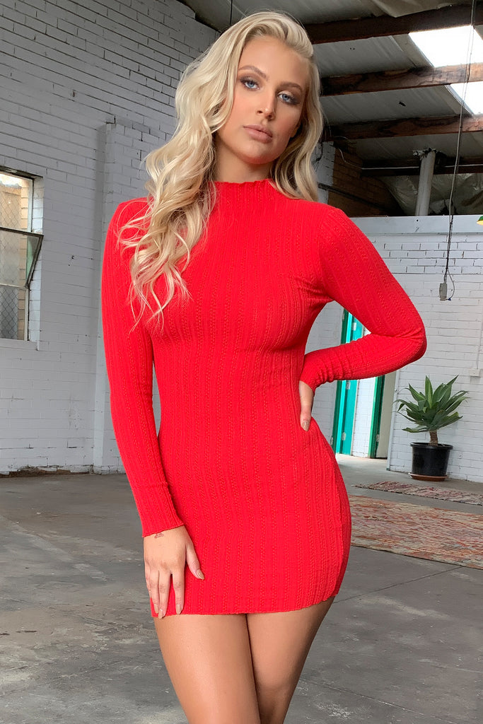 Saidie Dress - Red