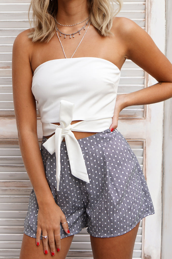 DALTON CROP - WHITE