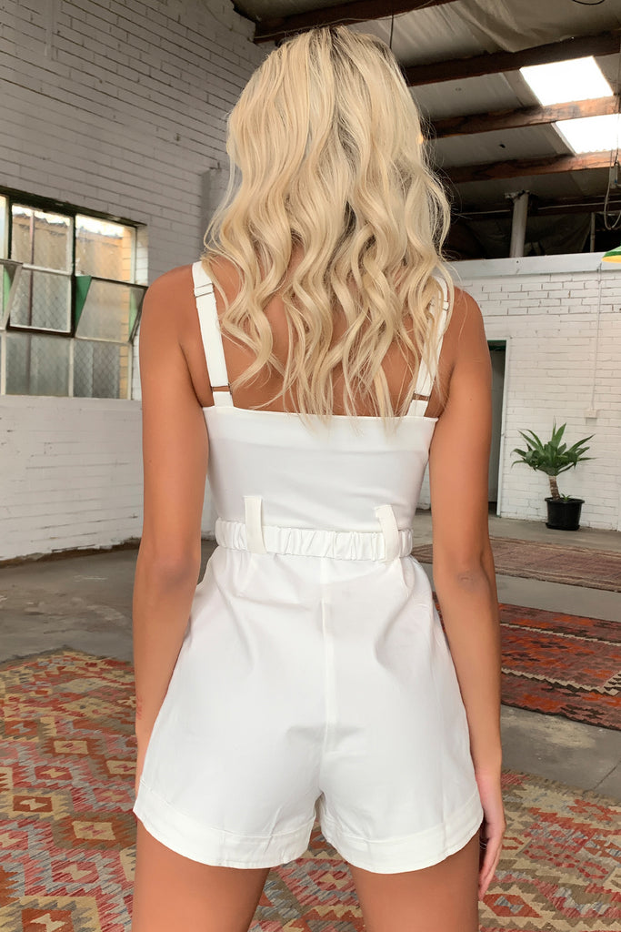 Virtue Jumpsuit - White