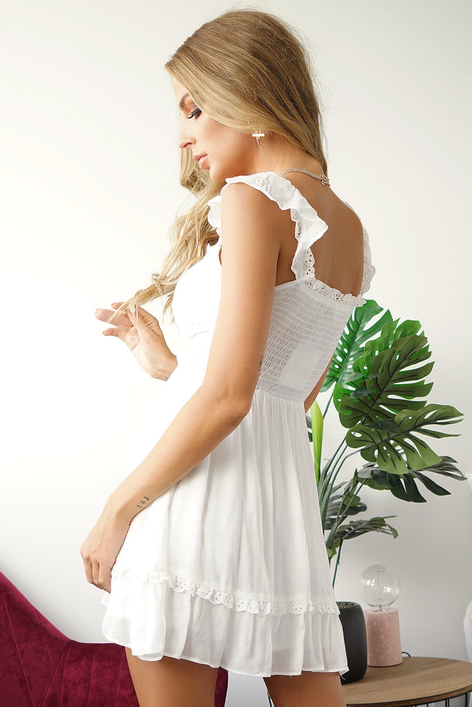 ATHENA DRESS - WHITE