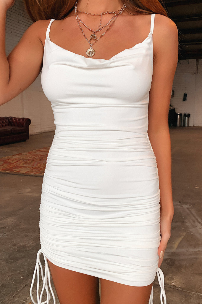 Traverse Dress - White