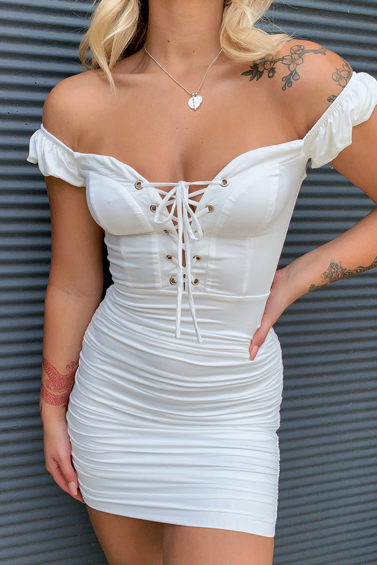 Ariana Dress - White